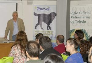 Javier Sanchez Casarrubios presentando jornadas ICOVT