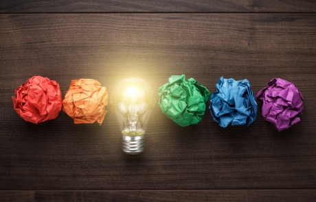 Concepto de una gran idea